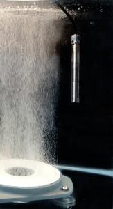 Ceramic diffusor, optical dissolved oxygen sensor