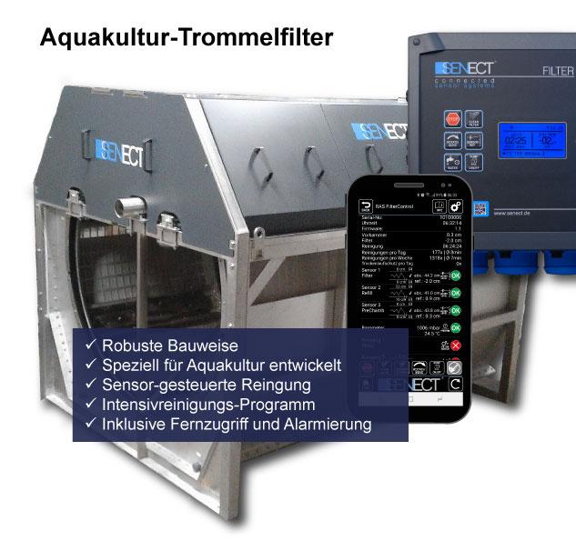Aquakultur Trommelfilter